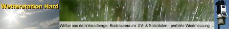 Wetterstation Hard am Bodensee